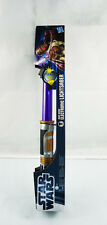 Hasbro Star Wars Weapons Mace Windu Electronic Extendable Purple Lightsaber Toys