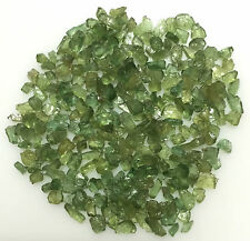 100CT SCOOP NATURAL APATITE GREEN RAW ROUGH LOOSE MINERAL GEMSTONE LOT WHOLESALE