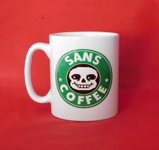 Undertale Sans Starbucks Inspired Coffee Mug 10oz