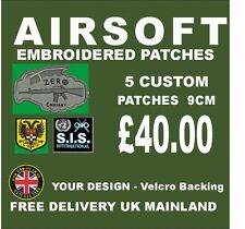 AIRSOFT CUSTOM EMBROIDERED BADGES/PATCHES