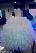 2016 New Hot Quinceanera Dresses Ball Gowns Formal Prom Gowns Sweet 16 Dresses