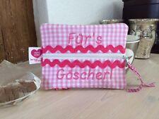 Dawanda Feuchttücherhülle Feuchttücher *Für`s Göscherl* Tasche rosa *Neuwertig*