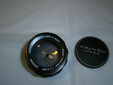 Super - Takumar 50mm F 1.4.... UV yellow treated.....in Pentax M42 Screw Mount..
