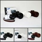 New leather case bag for Samsung NX300 NX300M camera 18-55mm or 20-50mm lens New