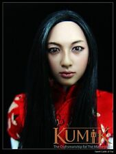1/6 Kumik Accessory - Action Figure Female Head Sculpt KM001 For Phicen HotToy