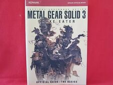 METAL GEAR SOLID 3 Snake Eater official strategy guide book / PS2