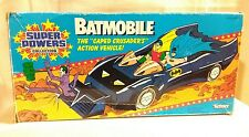 "Super Powers Collection ""Batmobile"" by Kenner Toys 1984 Opened Box"
