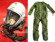 Flight Helmet SURPLUS HIGH ATTITUDE FIGHTER PILOT PRESSURE ANTI G FLIGHT SUIT