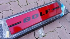 VW Rabbit Golf Mk1 GL GTI Oettinger Pirelli Euro Tail Lights Panel/Heckblende