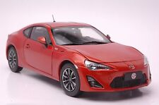 Toyota GT86 car model in scale 1:18