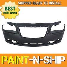 NEW 2011 2012 2013 2014 Chrysler 300 w/oPrk asist Front Bumper PaintedCH1000A00