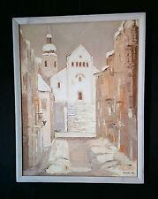 OPOLE 79 von ANNA WYRWISZ (*1930-1882 Prudnik, museales Gemälde Oppeln Schlesien