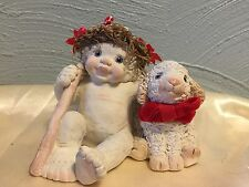 """DREAMSICLES. """"GOOD SHEPHERD WITH HIS LAMB""""  RETIRED & OUT OF PRODUCTION."""