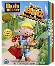 Bob The Builder Triple Disc Dvd Full Length Box Set Cool Kids Birthday Gift Idea