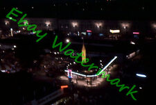 Aerial Midway Carnival Night View at Wisconsin State Fair 1960 Kodak Slide