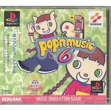 USED PS1 Pop'n Music 6 [Japan Import] Free Shipping!