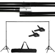 Photography Adjust 10Ft Background Support Stand Photo Crossbar Studio Kit