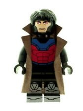 Custom Minifigure Gambit Superhero Batman Printed on LEGO Parts