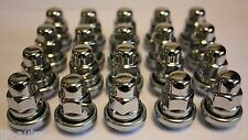 20 X M12 X 1.5 VARIABLE WOBBLY ALLOY WHEEL NUTS FIT LEXUS IS250 IS220 IS200 ISF