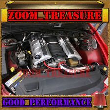 RED 2004/04 PONTIAC GTO G T O 5.7L 6.0L V8 FULL AIR INTAKE KIT