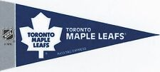 NHL Mini Pennant Collection Decor 4''X9'' Banner Flag Toronto Maple Leafs Team