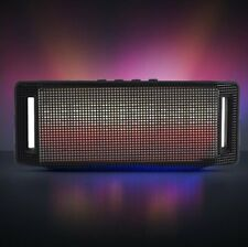 Dazzle LED Light Stereo Wireless Bluetooth Speaker Fits Samsung Phone HTC Party