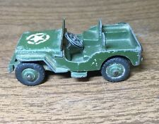 Vintage DINKY TOYS #25Y Army Jeep