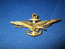 CHILE NAVY EARLY NAVAL AVIATOR PILOT FULL SIZE WINGS INSIGNIA