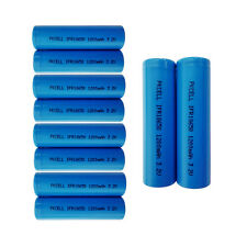 10× IFR 18650 1200mAh 3.2V LiFePO4 Rechargeable Battery PKCELL