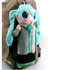 Cute Hatsune Miku Doll Figure Plush Make Up Bag Pencil Case Storage Bag