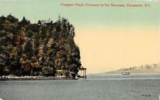 Photo. ca 1911. Vancouver, Canada. Prospect Point & 1st Narrows