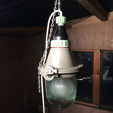 Industrial Factory Vintage Retro Pendant Light Lamp  Vintage CCCP