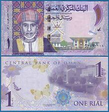 Oman 1 Rial P New 2015 UNC Corrected date Commemorative Low Ship! Combine FREE!
