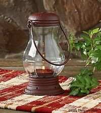 LANTERN TEA LIGHT CANDLE HOLDER COUNTRY HOME ACCENT