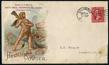 HERCULES POWDER SEPT 24,1900 COLUMBUS, OH GUN ADVT COVER SEPT 1905 HV4896 SR17A