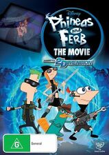 PHINEAS AND FERB THE MOVIE Across the 2nd Dimension DVD R4