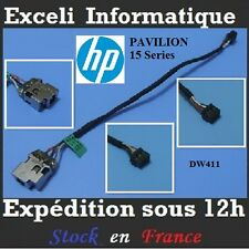Connecteur Dc Power Jack cable HP Pavilion 15-n037sf n039sf n041sf n042ef n043sf