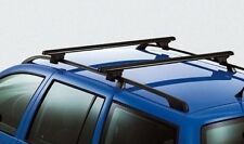 NEW GENUINE VW GOLF MK4 PASSAT B5 B5.5 ESTATE ACCESSORY BLACK ROOF BARS SET