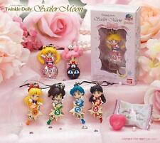 SAILOR MOON TWINKLE DOLLY (PORTACHIAVI/CELL STRAP) SET COMPLETO BANDAI