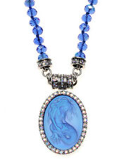 KIRKS FOLLY LORELEI DIVA MERMAID MAGNETIC NECKLACE SILVERTONE ~~NEW RELEASE~~
