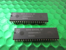 MAB8040HL, de un solo chip 8-BIT Microcontrolador, Vintage De Audio, Video, Juegos. * X 2 *