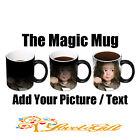 Personalised MAGIC Colour Heat Change Mug Gift Any Image/Photo/Text/Design