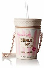 Betsey Johnson Strawberry Milkshake Shoulder Bag Purse Pink White Blue