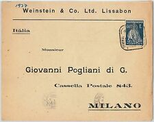 58273 -  PORTUGAL  - POSTAL HISTORY: COVER to ITALY - 1927