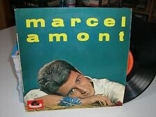 33 TOURS (25 cm) / LP--MARCEL AMONT N° 4--LA CHANSON DU GRILLON