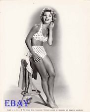 Ruta Lee busty leggy barefoot VINTAGE Photo circa 1962