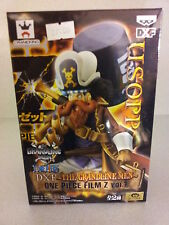 USOPP ONE PIECE FILM  THE GRANDLINE MEN ACTION FIGURE STATUE BANPRESTO