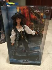PIRATES OF THE CARIBBEAN ANGELICA BARBIE DOLL PENELOPE CRUZ PINK LABEL COLLECTOR