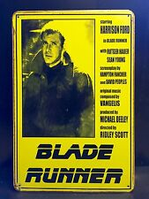 Blade Runner Movie Poster Wall Decor Garage Large Metal Sign 30x40cm