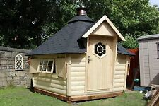 9.2m sloping BBQ Hut, Grillkota BBQ house with upgraded grill set